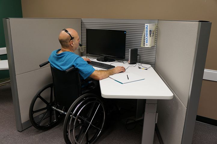 person with disability